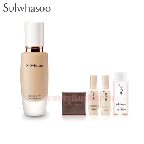 SULWHASOO Sheer Lasting Foundation Set [Monthly Limited -July 2018]